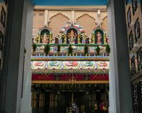 Sri Mahamariamman, hinduisk tempel i Kuala Lumpur arkivfoto