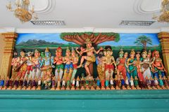 Sri Mahamariamman Indian Temple Stock Image