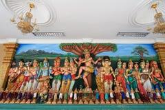 Sri Mahamariamman indiertempel Arkivfoton