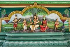 Sri Mahamariamman temople w Kuala Lumpur fotografia royalty free