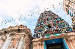 Sri Mahamariamman tempel Royaltyfria Foton