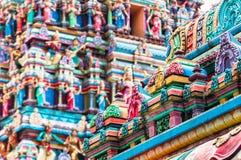 Sri Mahamariamman tempel Royaltyfri Bild