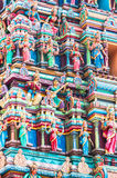 Sri Mahamariamman tempel royaltyfri illustrationer