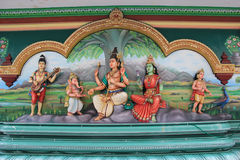 Sri Mahamariamman Tempel Lizenzfreie Stockbilder