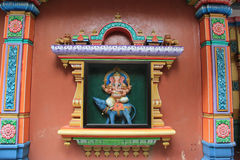 Sri Mahamariamman Tempel Stockfotos