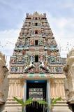 Sri Mahamariamman tempel i Kuala Lumpur Royaltyfria Bilder