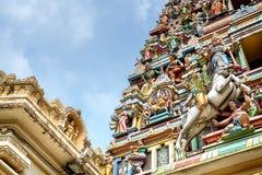 Sri Mahamariamman tempel, Kuala Lumpur Fotografering för Bildbyråer