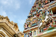 Sri Mahamariamman Temple, Kuala Lumpur Stock Image