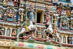 Sri Mahamariamman Temple, Kuala Lumpur Stock Images
