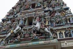 Sri Mahamariamman Temple, Kuala Lumpur, Malaysia. Royalty Free Stock Photo