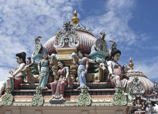 Sri Mariamman Hindu temple Royalty Free Stock Images