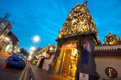 Sri Mariamman Hindu Temple, Chinatown - Singapore Stock Image