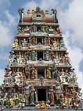 Sri Mariamman Hindu Temple - Singapore Stock Images