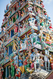 Sri Mariamman Hindu Temple in Singapore Royalty Free Stock Photography