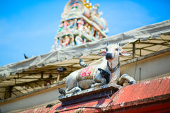 Sri Mariamman Hindu Temple in Singapore Stock Photography