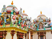 Sri Mariamman Temple, The Hindu In Singapore Stock Images