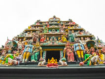 Sri Mariamman Temple, The Hindu In Singapore Stock Photo