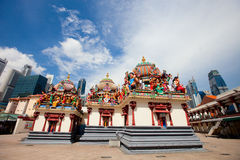 Sri Mariamman Temple in Singapore Stock Image