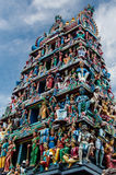 Sri Mariamman Temple Singapore Royalty Free Stock Images