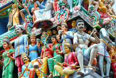 Sri Mariamman temple Stock Image