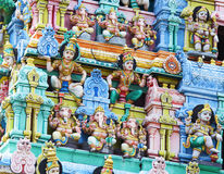 Sri Mariamman temple Royalty Free Stock Image