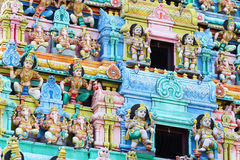 Sri Mariamman temple in Singapore Royalty Free Stock Image
