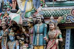 Sri Mariamman Temple, Singapore Stock Photography