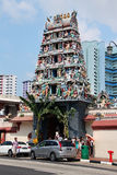 Sri Mariamman Temple - Singapore Stock Photo