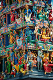 Sri Mariamman Temple, Singapore's Hindu temple Royalty Free Stock Photo