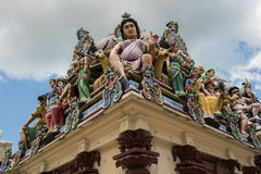 Sri Mariamman Temple, Singapore Royalty Free Stock Photography