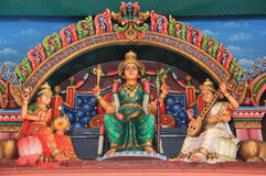 The Sri Mariamman Temple, Singapores oldest Hindu temple Stock Photography