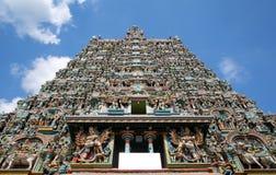 sri meenakshi寺庙,马杜赖,印度 免版税库存图片