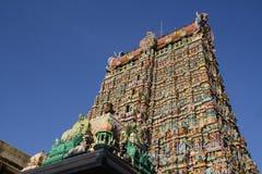 Sri Meenakshi阿曼寺庙 免版税库存照片