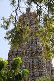 Sri Meenakshi Amman tempel Royaltyfri Bild