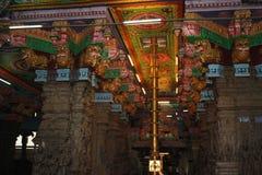 Sri Meenakshi Amman tempel Arkivbild