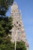 Sri Meenakshi Amman tempel Arkivfoto