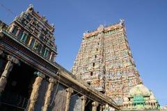 Sri Meenakshi Amman tempel Royaltyfria Bilder