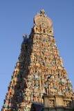 Sri Meenakshi Amman tempel Arkivfoton