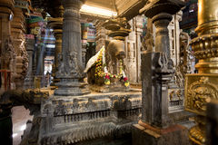 Sri Meenakshi Hindu Temple Royalty Free Stock Photo