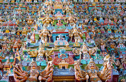Sri meenakshi temple, Madurai, India Stock Photo