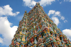 Sri meenakshi temple, Madurai, India Royalty Free Stock Photo