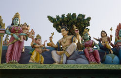 Sri Murugan Temple near Hampi, India Royalty Free Stock Images