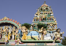 Sri Murugan Temple near Hampi, India Royalty Free Stock Photos