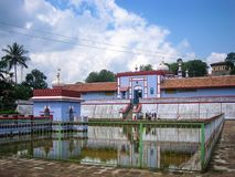 Sri Omkareshwara Temple, Madikeri. The Omkareshwara Temple is an ancient shrine dedicated to Lord Shiva. It is situated in the town of Madikeri in Coorg Stock Photo