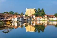 Sri Padmanabhaswamy tempel i Trivandrum Kerala Indien Royaltyfria Bilder