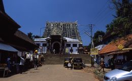 Sri Padmanabhaswamy temple, Thiruvananthapuram, Kerala, India. Stock Images