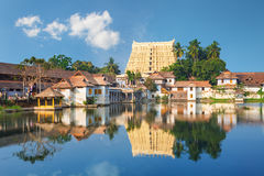 Sri Padmanabhaswamy temple in Trivandrum Kerala India Royalty Free Stock Photography