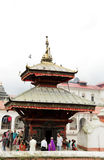 Sri Pashupatinath Temple located on the banks of Bagmati River Royalty Free Stock Photos