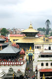 Sri Pashupatinath Temple located on the banks of Bagmati River Stock Image