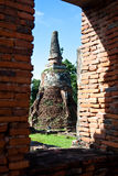 sri phra ayutthaya7 sanphet wat Στοκ Εικόνες